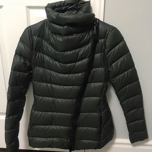 Mackage Olive green down jacket XS